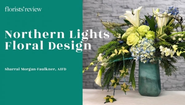 Northern Lights Floral Design How-to