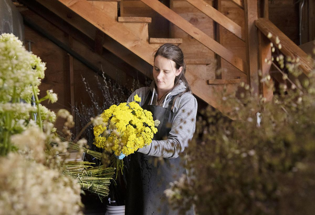 U.S. flower growers' incomes snipped